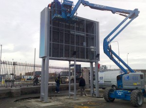 SSV LED Screen Installation