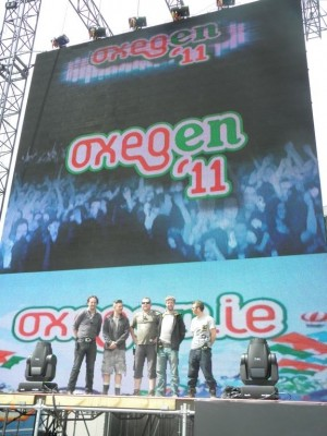 SSV info case study Oxegen 2011